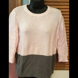 Loft Block Color Sweater